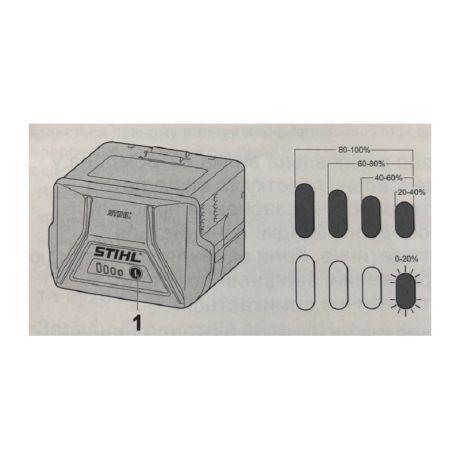 Аккумулятор STIHL AК 30 Li-ion (45204006512)